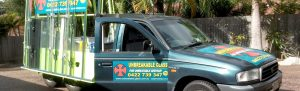 Unbreakable Glass Pool Fencing Business Service Vehicle