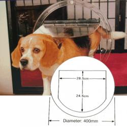 Small dog door