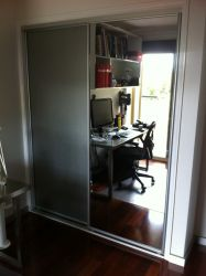 Sliding Mirror Wardrobe Door